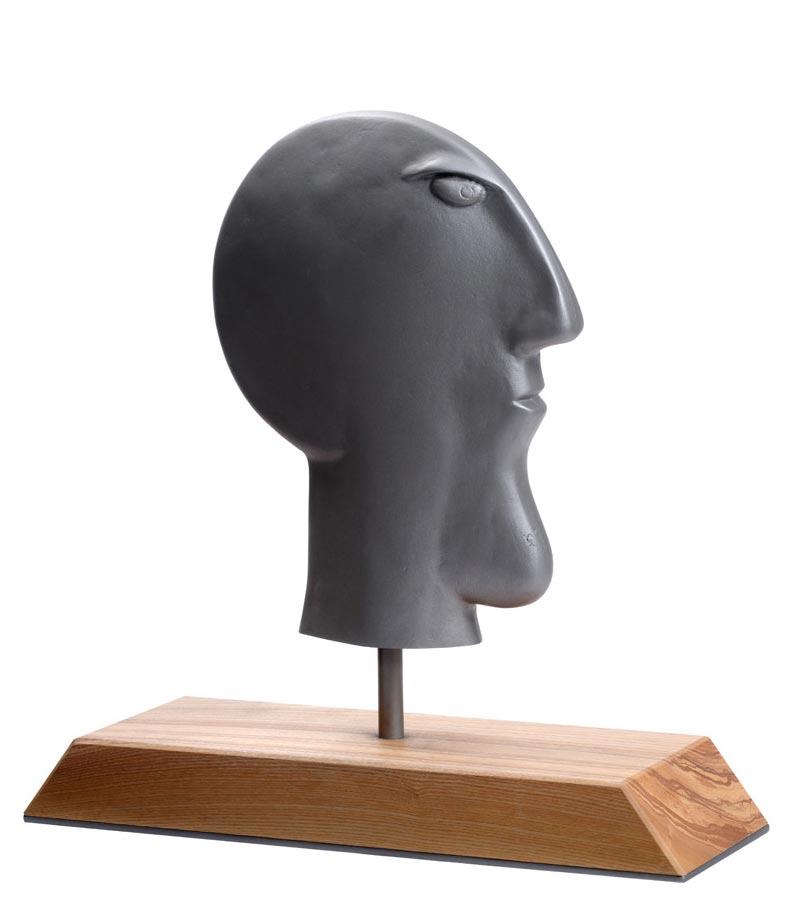 JAN Künstlerkopf, gegossen