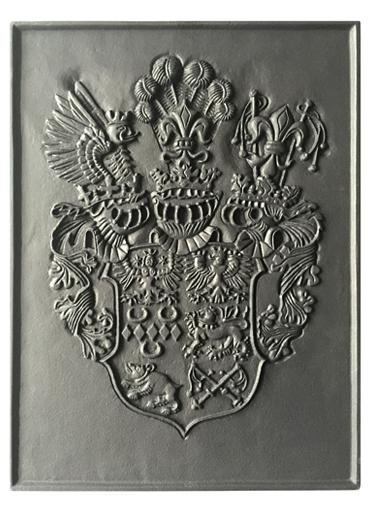 Ostfriesland-Wappen, gegossen