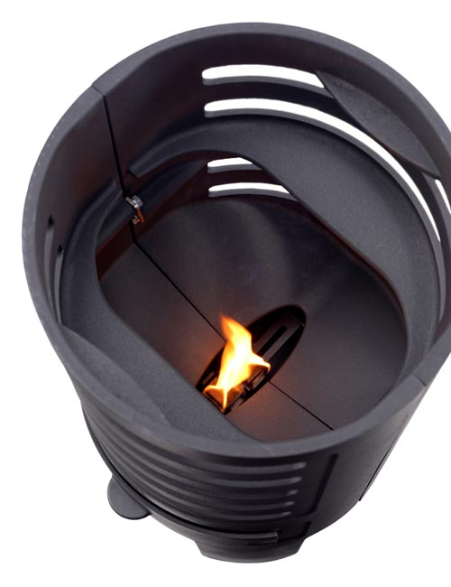 OutFire Guss-Feuerturm